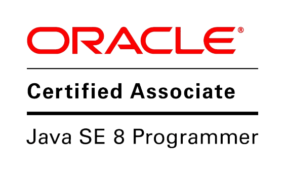 CERTIFICATION ORACLE CERTIFIED ASSOCIATE, JAVA SE 8 PROGRAMMER